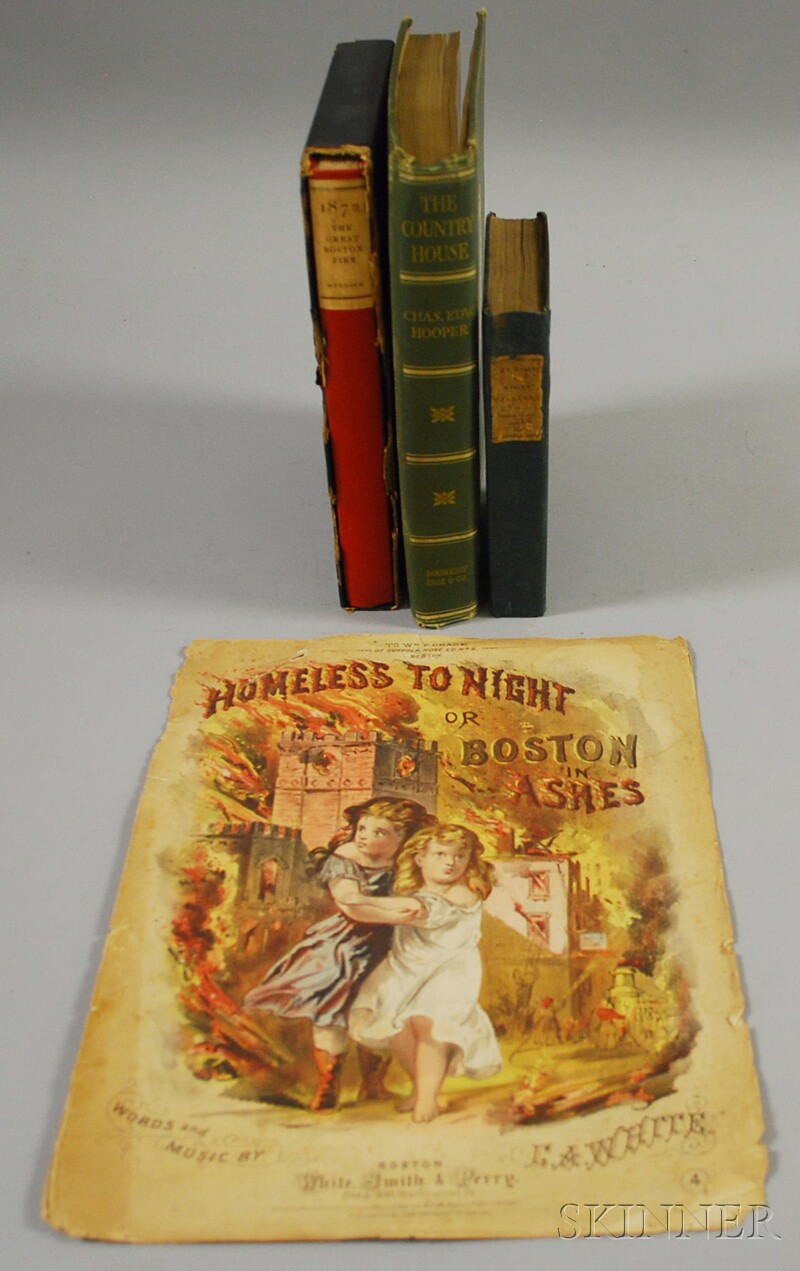 Boston Fire and Two Others, Four Volumes: