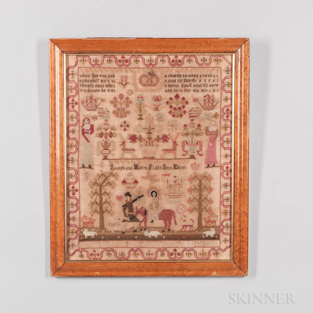 Mary Holthy Needlepoint Sampler