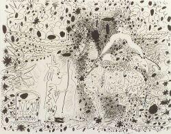 Pablo Picasso  (Spanish, 1881-1973)  L'Ecuyere