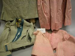 Large Group of Victorian Lady's Dresses, Clothing and Accessories.