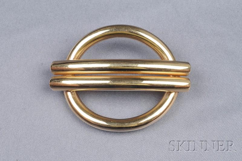 14kt Gold Brooch, Tiffany & Co.