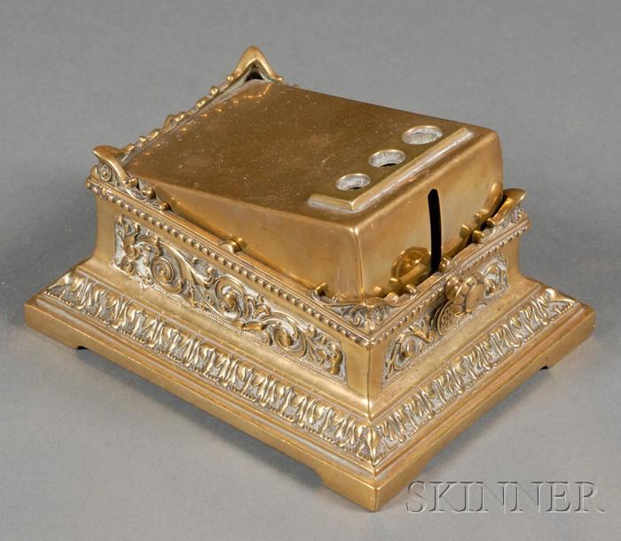 Victorian Brass Cigar Cutter