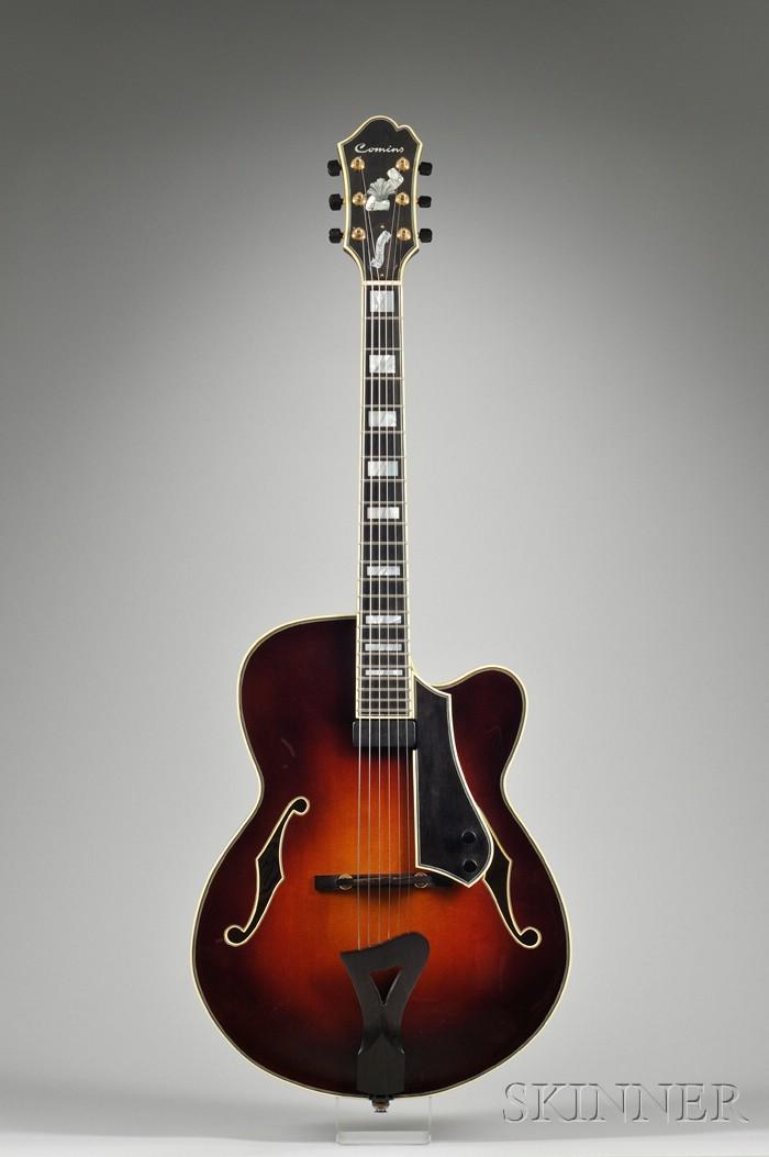 American Archtop Guitar, Bill Comins, Philadelphia, 1996, Model Chester Avenue