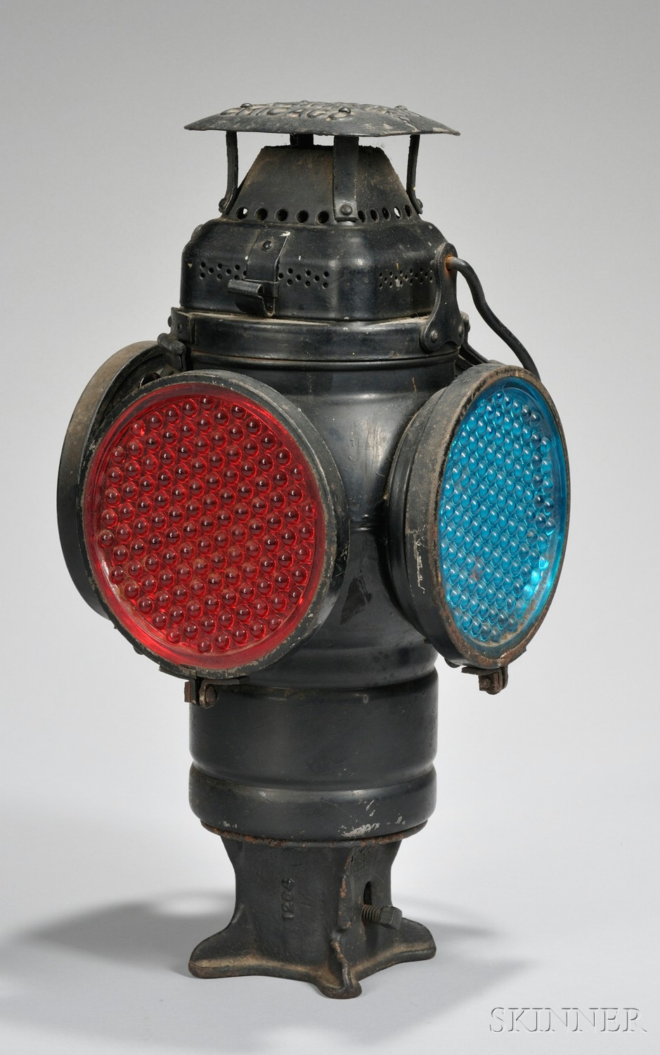 Adams & Westlake Adlake Non-Sweating Chicago Railroad Switch/Signal Lamp