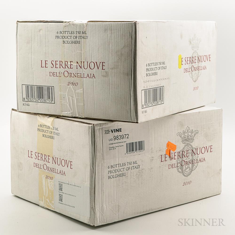 Tenuta dellOrnellaia Le Serre Nuove 2010, 12 bottles (2 x oc)
