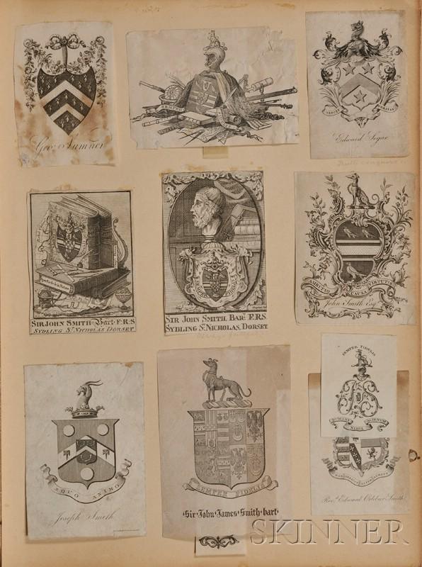 (Book Plates, Armorial)
