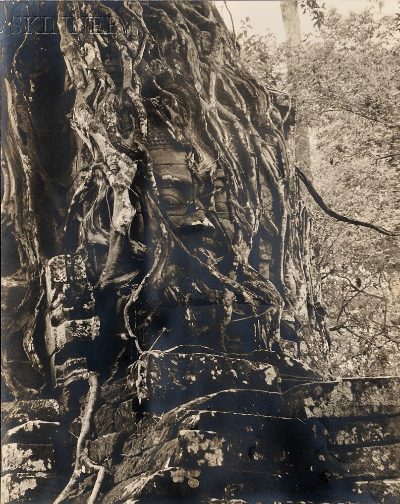 Josef Breitenbach (German/American, 1896-1984)      Angkor Cambodia
