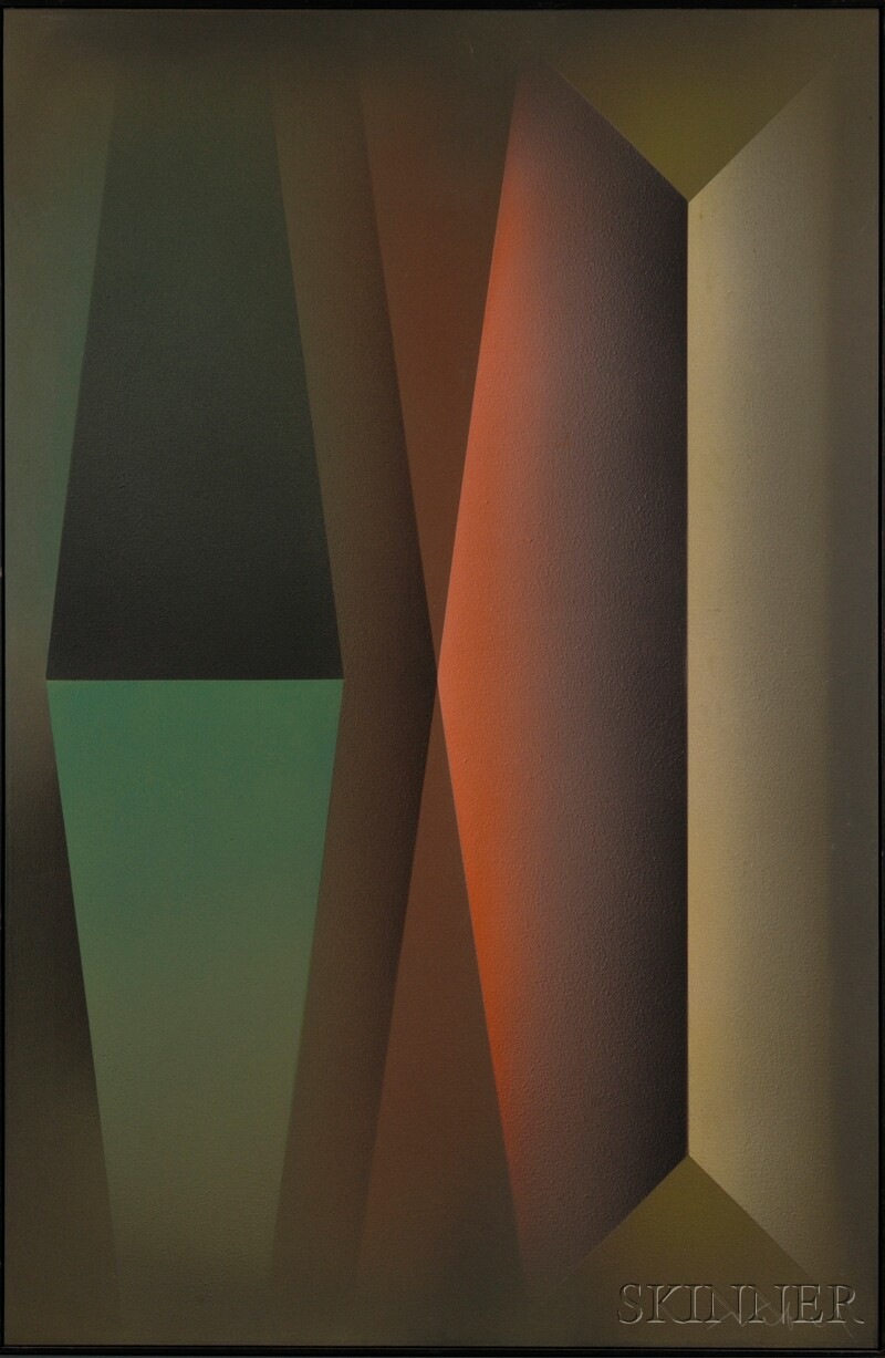 American School, 20th Century      Untitled [Geometric Abstraction]