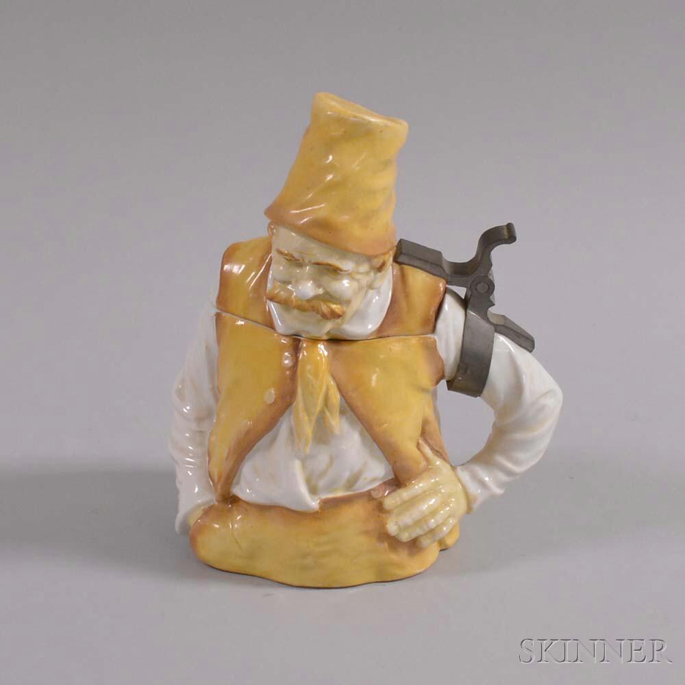 Musterschutz Figural Ceramic Stein