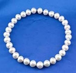 Strand of Semi-Baroque South Sea Pearls
