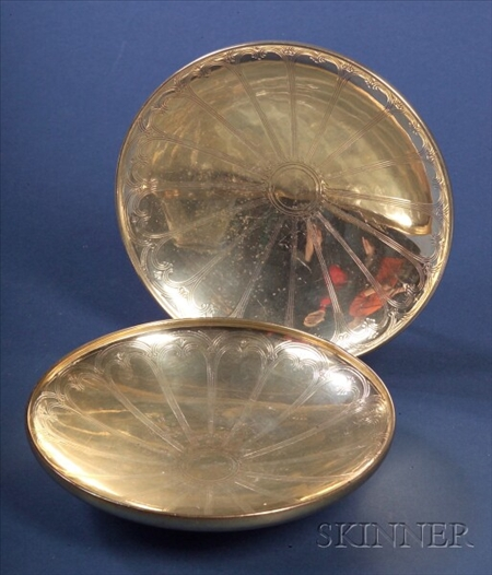 Pair of Tiffany & Co. Sterling Bowls