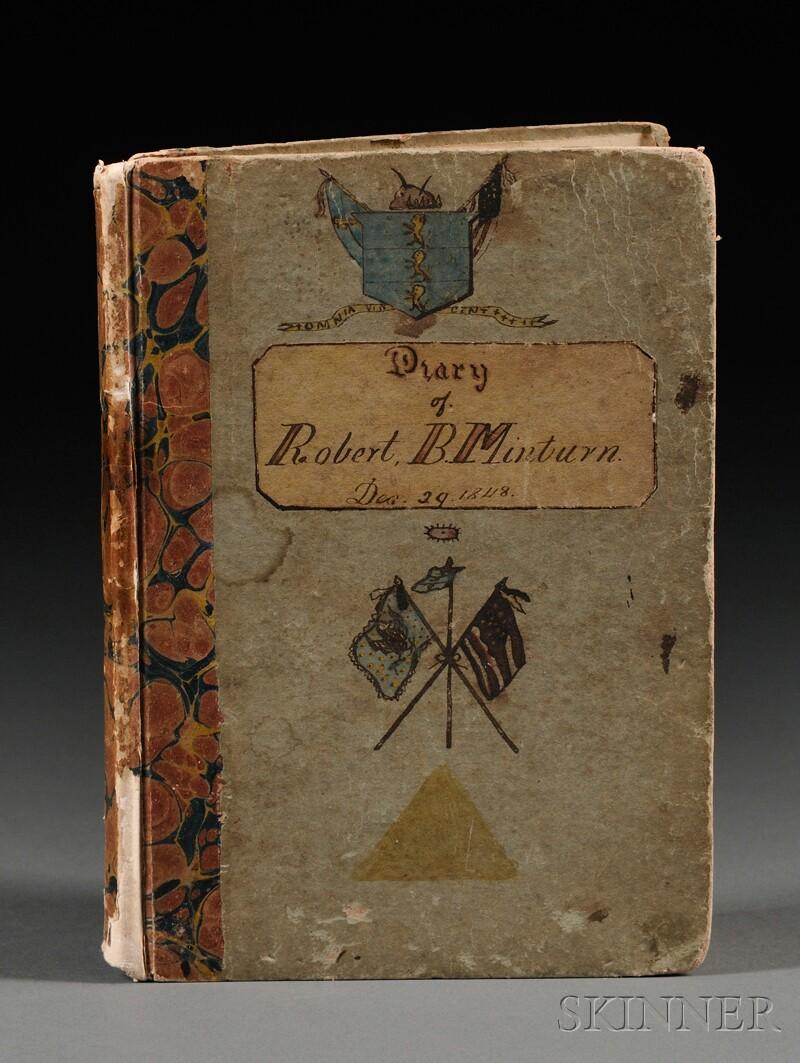 (European Grand Tour, 19th century), Minturn, Robert Bowne (1805-1866)