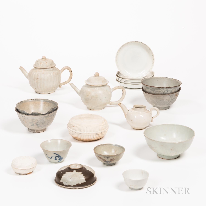 Twenty Export Shipwreck Ceramics