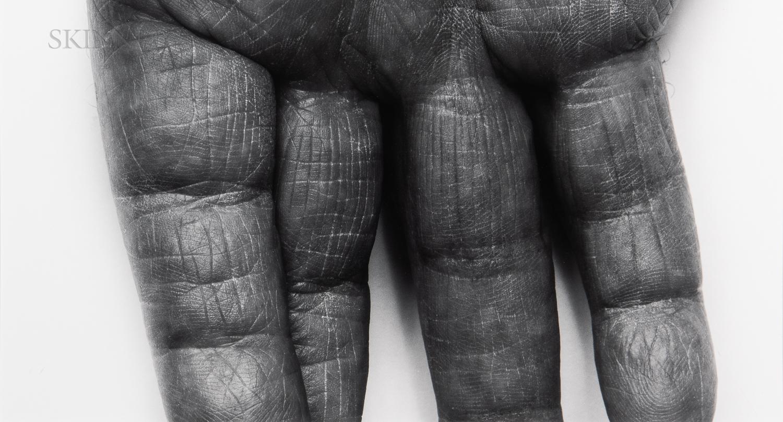 John Coplans (English, 1920-2003)      SP 30 99, Self Portrait: Fingers, Two Pair