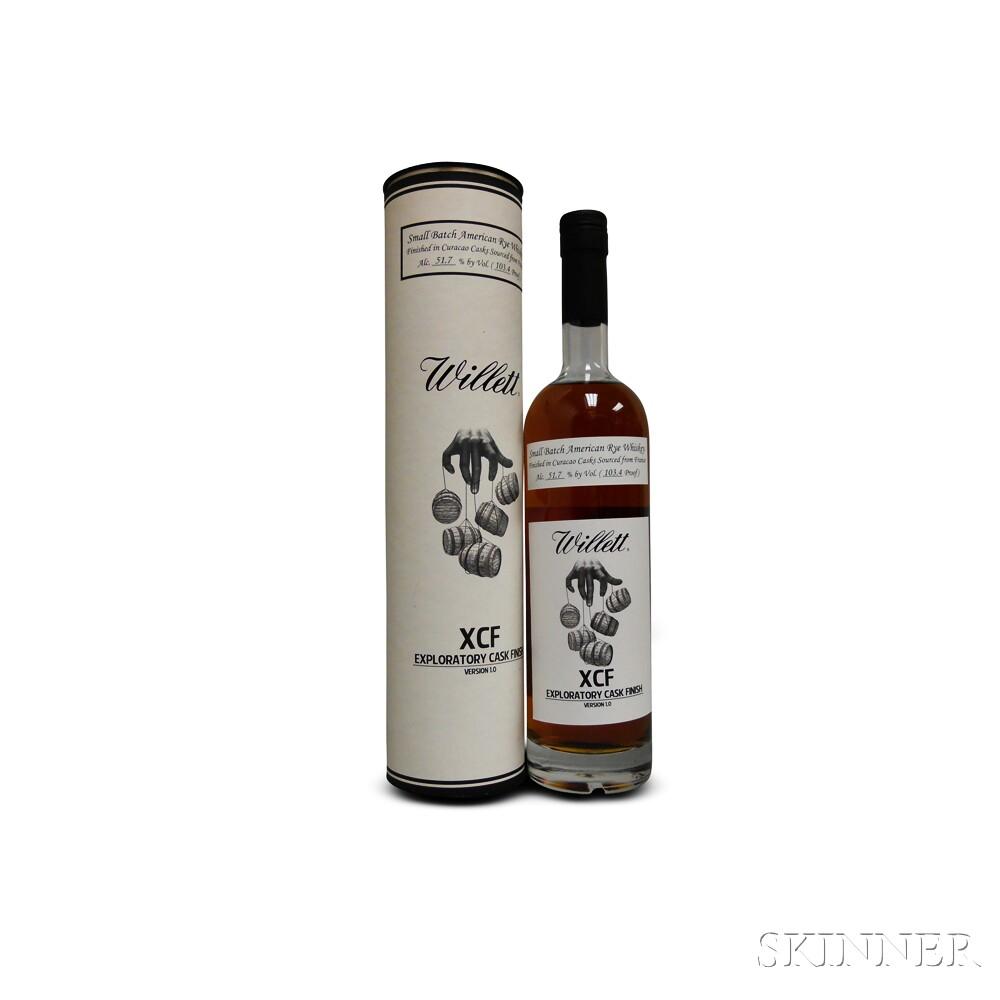 Willett XCF, 1 750ml bottle (ot)