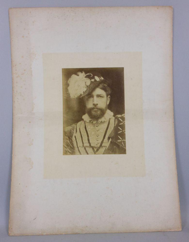 David Wilkie Wynfield (British, 1837-1887) Three Portraits of Victorian Artists, including William Holman Hunt, William Gale, and an Un