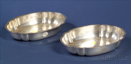 Pair of Gebelein Sterling Open Vegetable Bowls