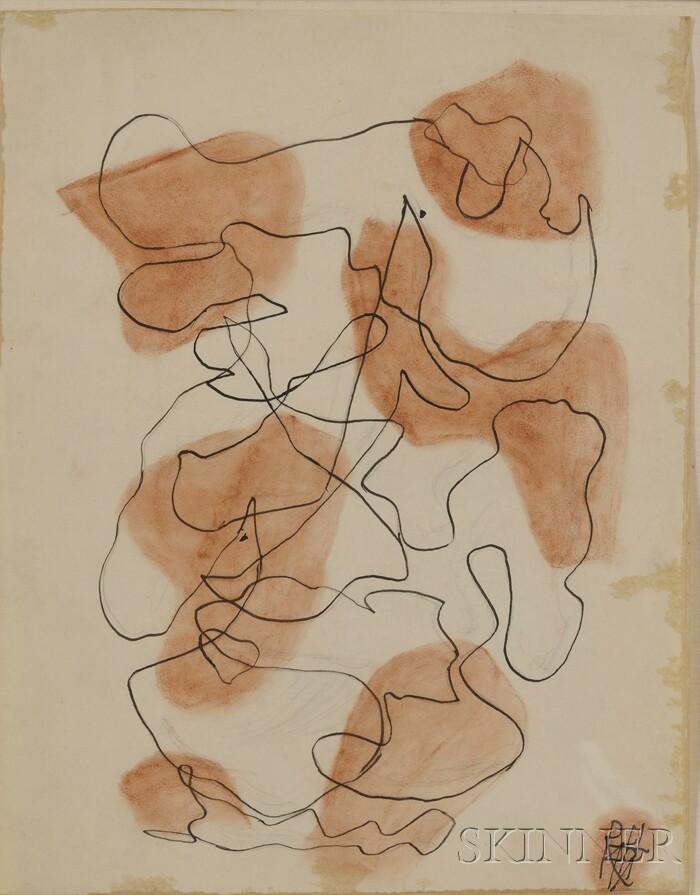 Raoul Hausmann (Austrian, 1886-1971)      Untitled,