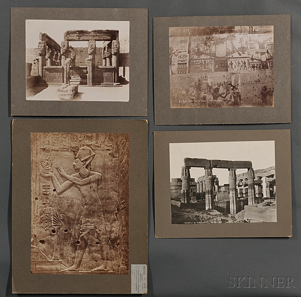 Photographs of Ancient Egyptian Monuments and Architecture, Sixty-nine.