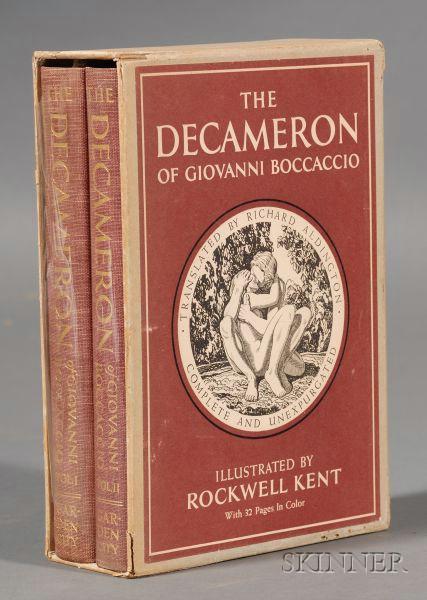 (Kent, Rockwell, Illustrator), Boccaccio, Giovanni