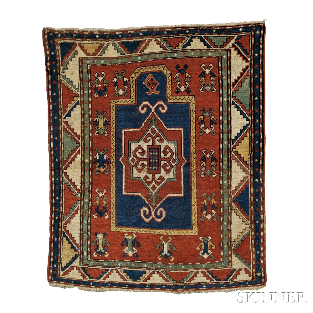 Fachralo Kazak Prayer RugFachralo Kazak Prayer Rug
