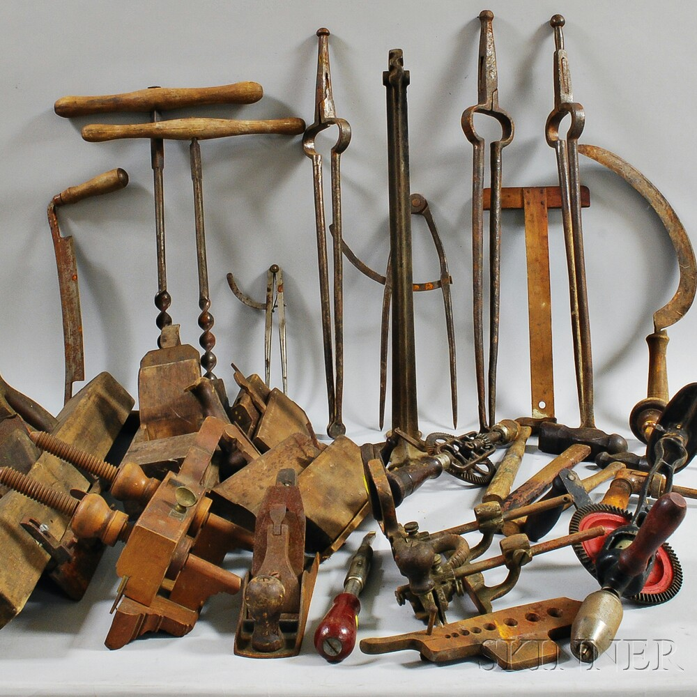 Collection of Woodworking Tools Sale Number 2881T, Lot Number 1333 Skinner Auctioneers