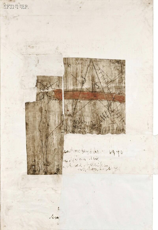 Anton Heyboer (Dutch, 1924-2005)      Untitled [Abstract]