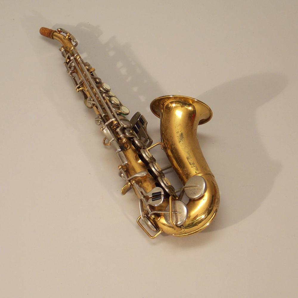 vintage borgani soprano saxophone sale number 2670t lot number 275 skinner auctioneers. Black Bedroom Furniture Sets. Home Design Ideas