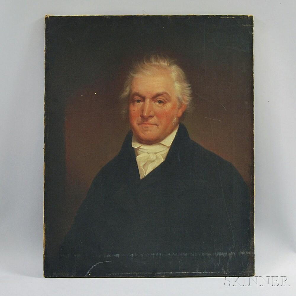 American School, 19th Century       Portrait of James Lightbody.