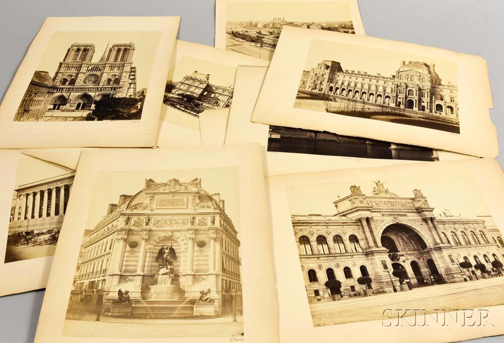 Édouard Baldus (French, 1813-1889)      Eleven Views of Paris