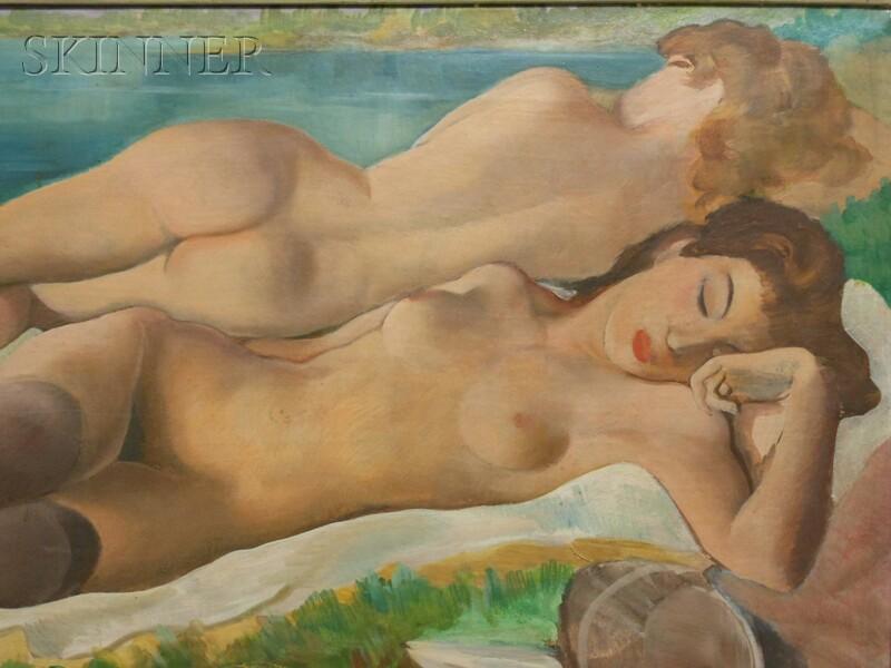 Emil Ganso (American, 1895-1941)      Sunbathers