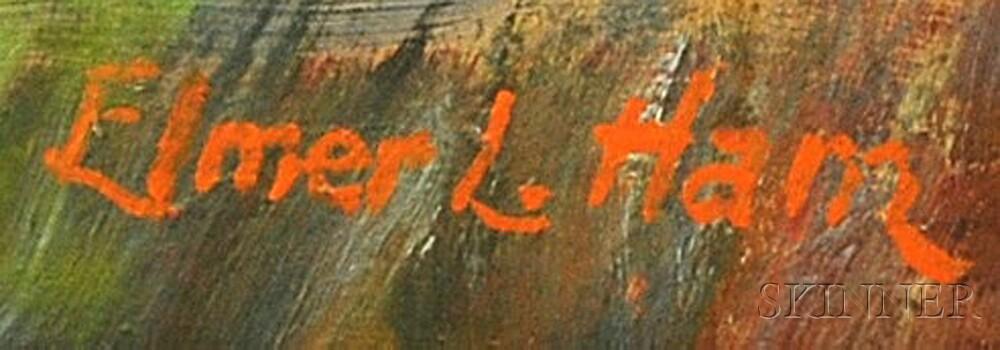 Elmer L. Ham (American, 1884-1978)      Charles River View