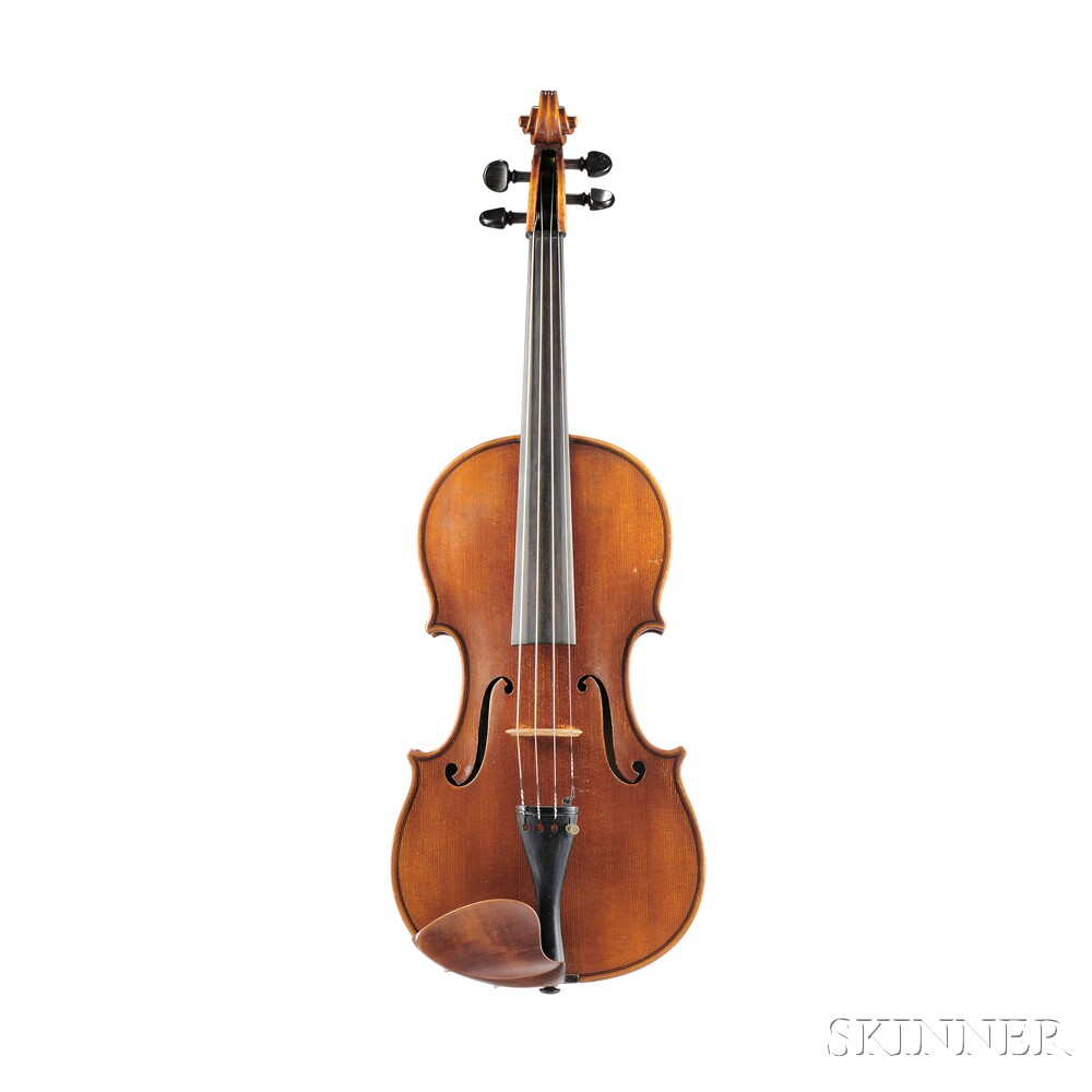 Modern German Viola, Ernst Heinrich Roth, Bubenreuth-Erlangen, 1955