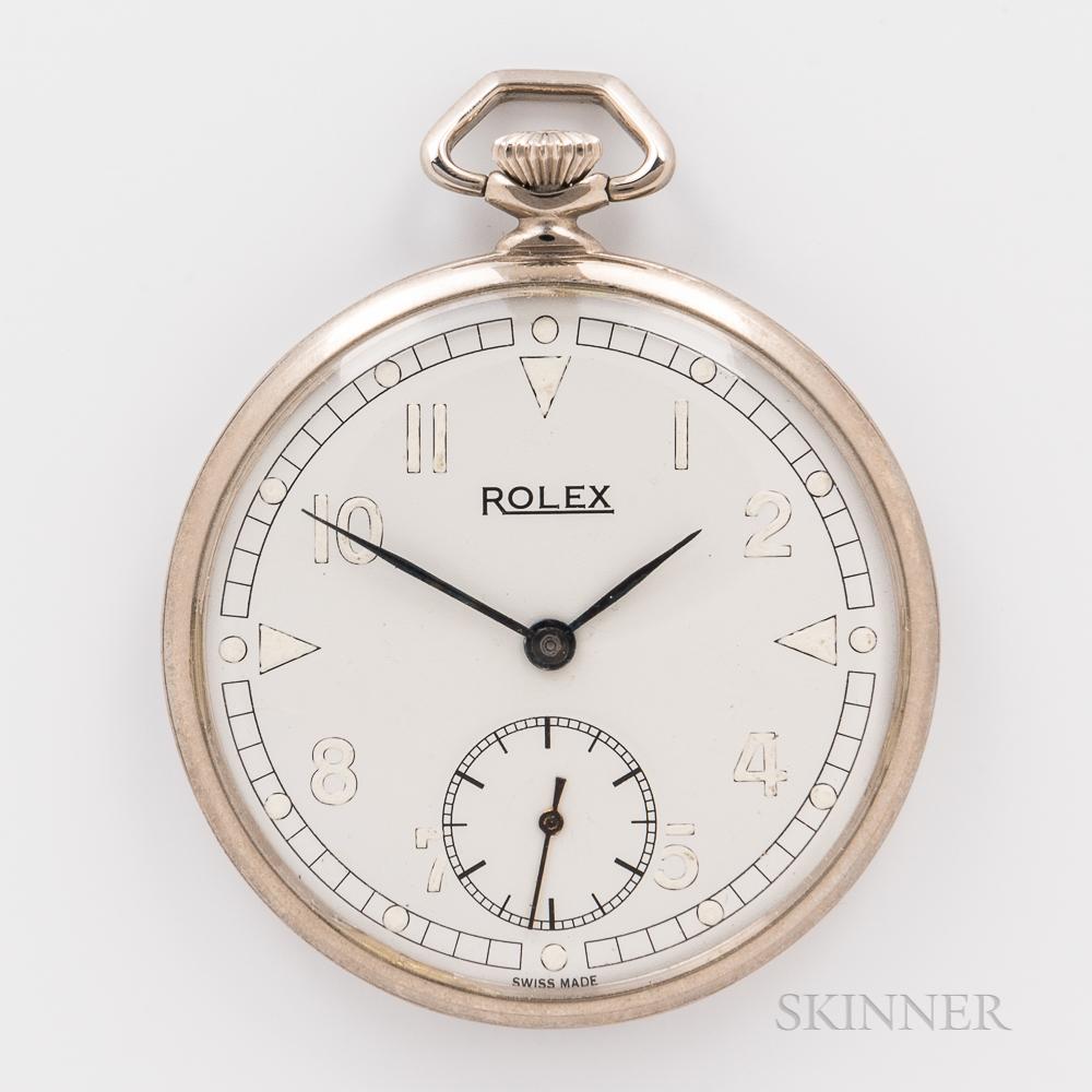Rolex Open-face Watch