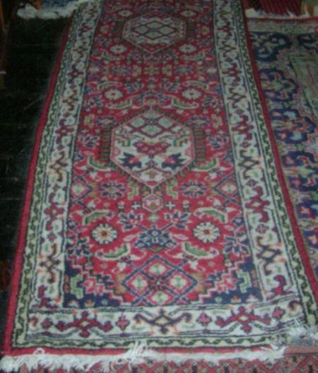 Five Oriental-style Rugs