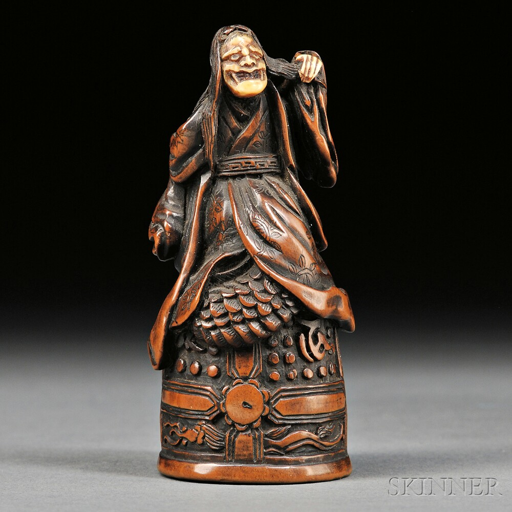 Wood Carving of Kiyohime