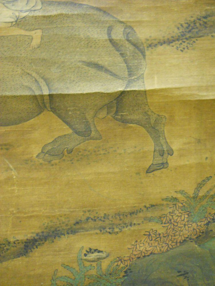 Hanging Scroll Depicting Water Buffalo