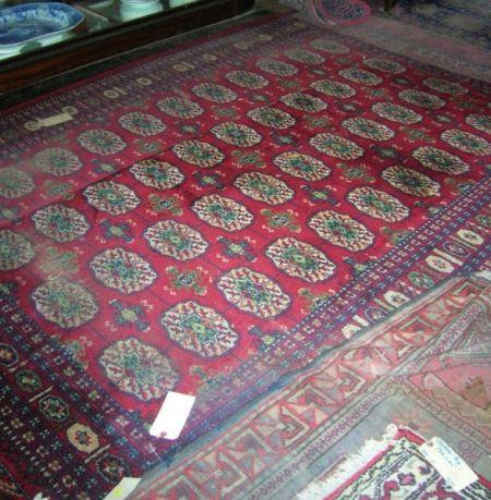 Six Oriental-style Rugs