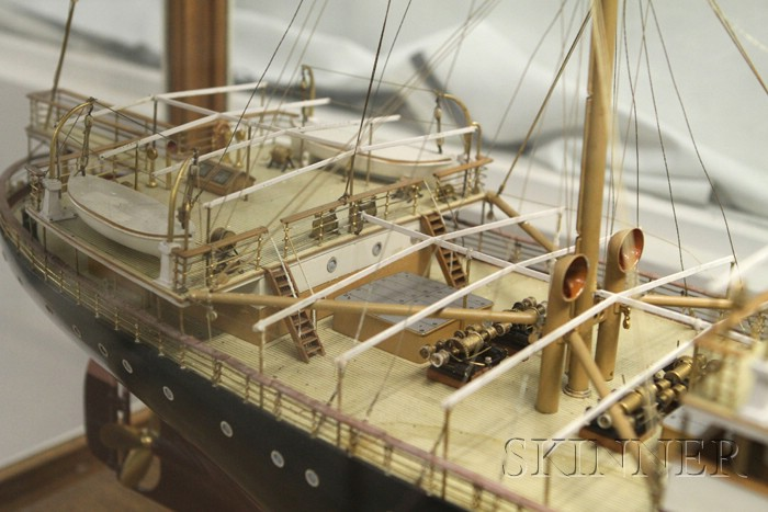 S.S. Nerissa Ship Builder's Model by Hugh MacMillan