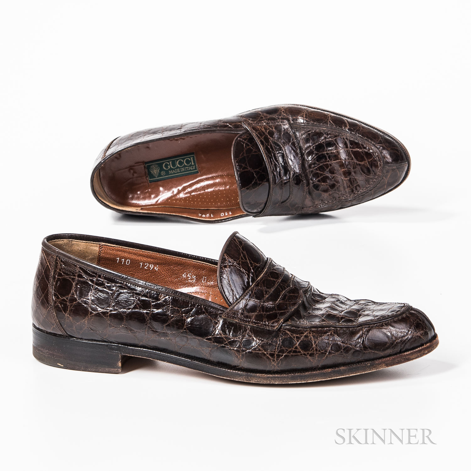Pair of Men's Gucci Loafers