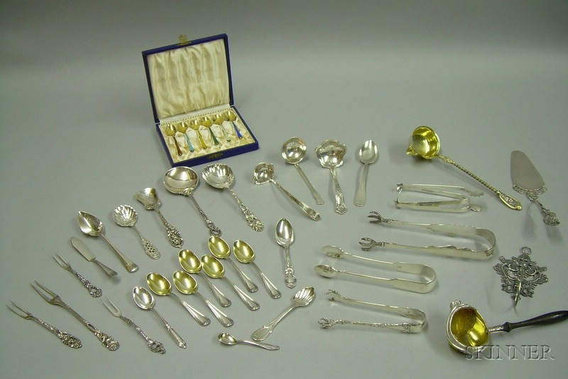 Group of Silver Flatware and Miscellaneous Articles