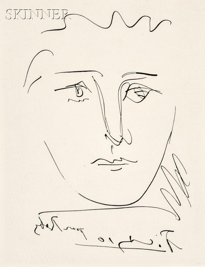 Pablo Picasso (Spanish, 1881-1973)      L'age de soleil (pour Roby)