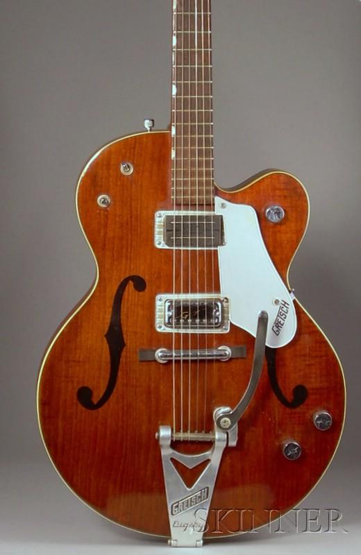 American Electric Guitar, Gretsch Company, Brooklyn, c. 1960, Model Country   Gentleman