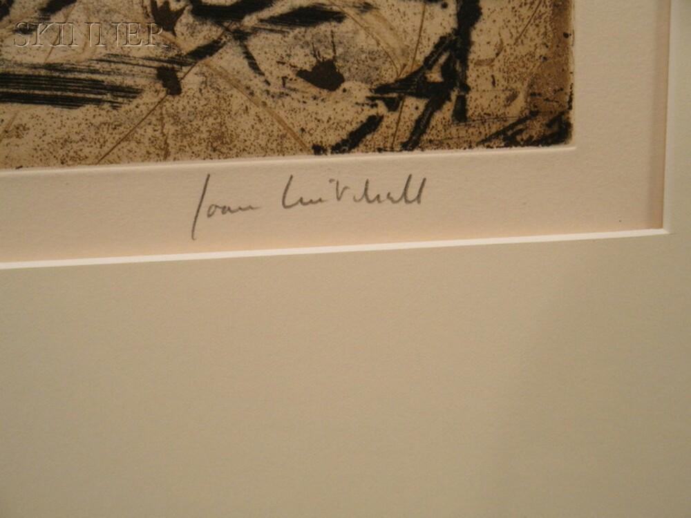 Joan Mitchell (American, 1925-1992)      Sunflower VI