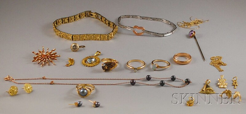 Small Group of Gold Jewelry