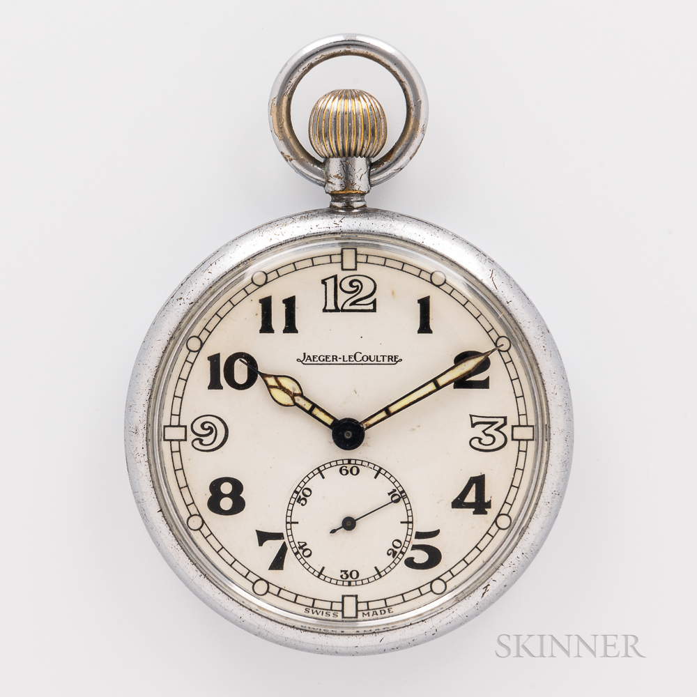 Jaeger LeCoultre Military Open-face Watch