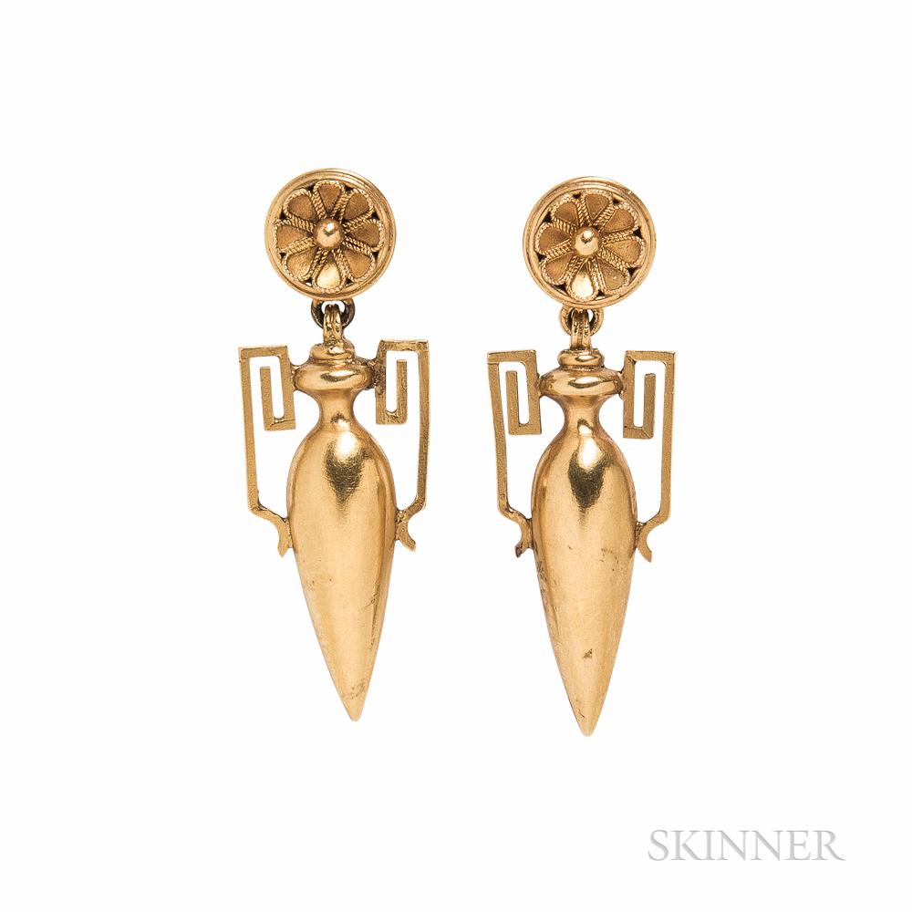 Archaeological Revival Earrings