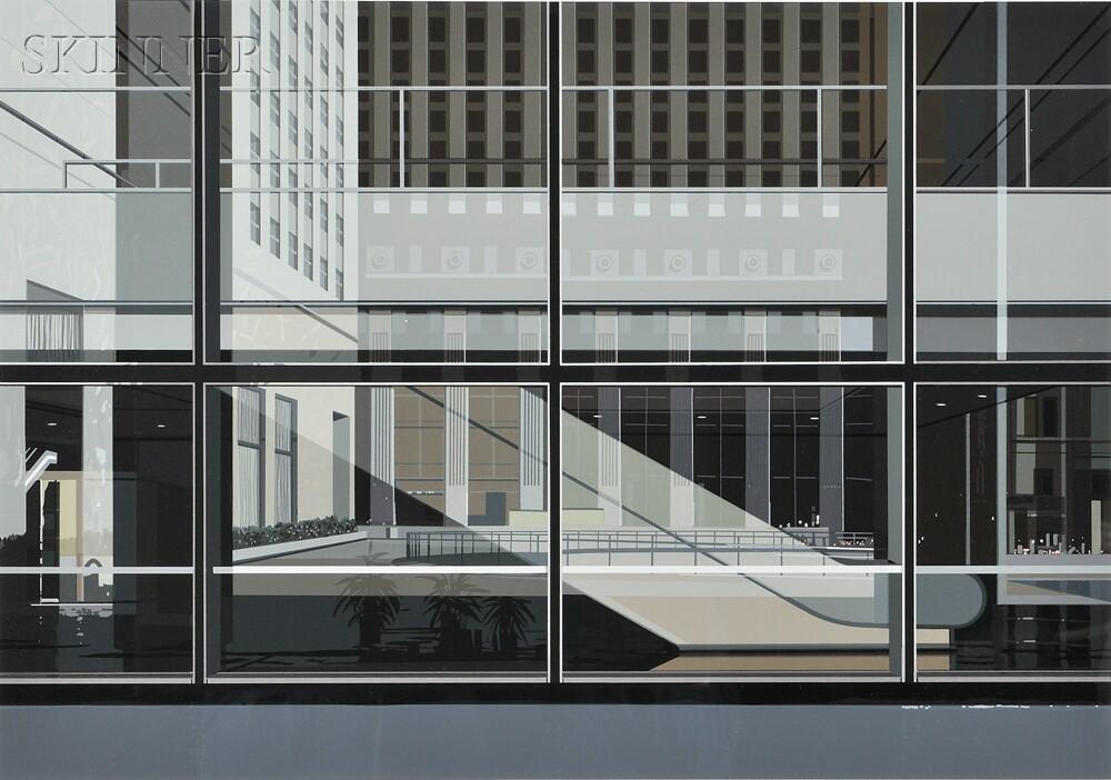 Richard Estes (American, b. 1932)      Manhattan