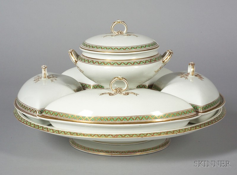 Wedgwood Pearlware Supper Set