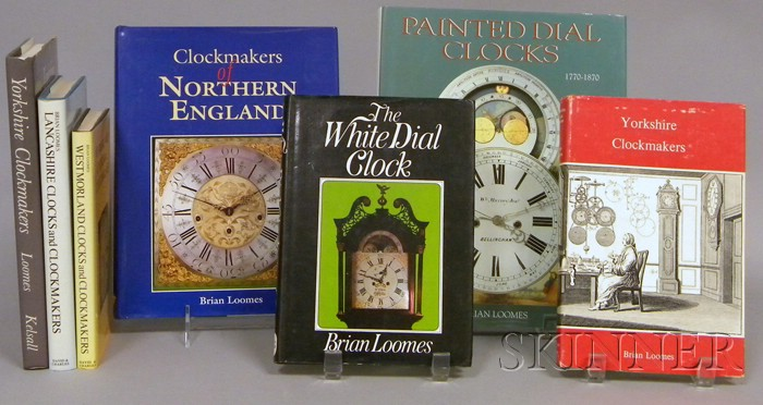 Seven Titles on Clocks and Clockmakers by Brian Loomes